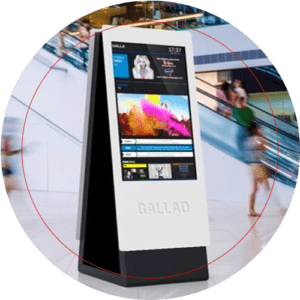 Click Here to see Usage of digital signage